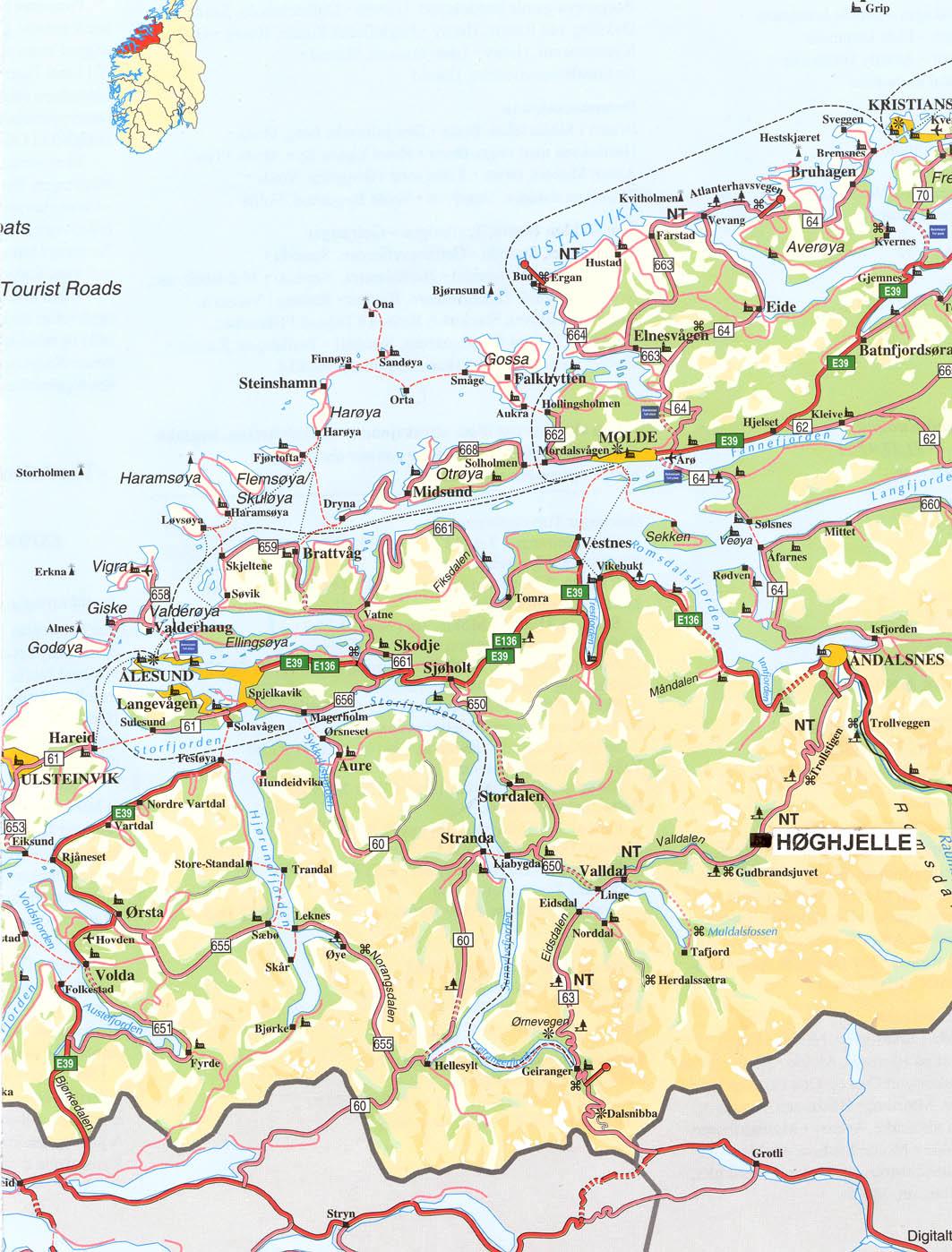 kart over storfjorden Litt av hvert kart over storfjorden