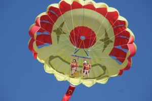Highlight for Album: Parasailing