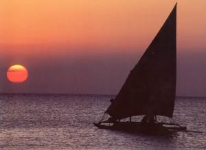 Solnedgang 1  i Sør-Afrika