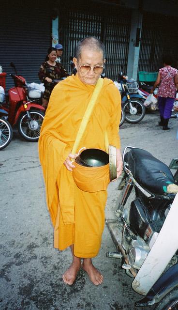 En munk ved Katarinaklosteret.