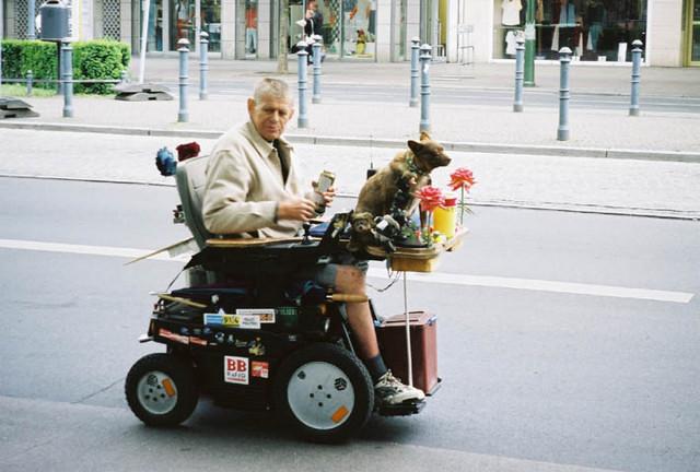 En mann og hans hund