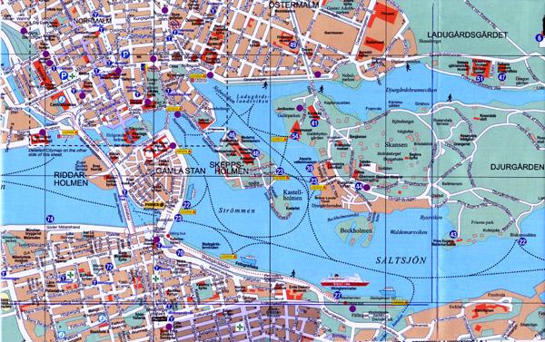 kart over stockholm sentrum Vi besøker Stockholm kart over stockholm sentrum